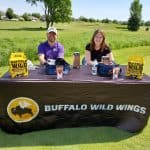 Buffalo wild wings Golf outing for chamber